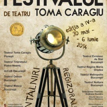 Noul val – chip de regizor la Festivalul de Teatru Toma Caragiu, 2014
