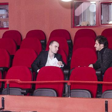 """""""Teatrul poate schimba ceva în individ."""" (interviu)"""